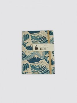NTB06_NOTEBOOK WAVE BLUE