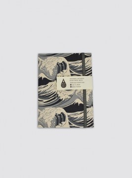 NTB08_NOTEBOOK WAVE BLACK