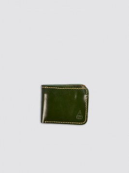 WLT03_Green Leather Wallet