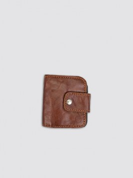 WLT06_Brown Leather Wallet